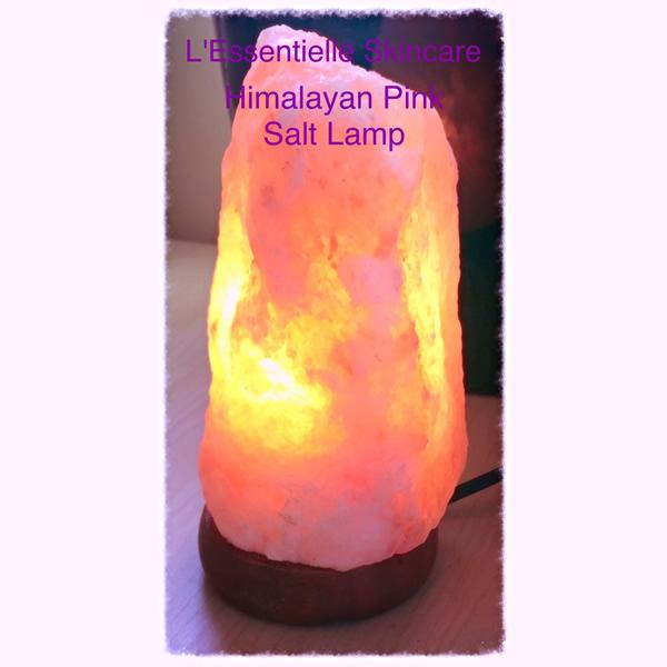 Natural himalayan pink salt lamp 8 10kg l 39 essentielle for Certified himalayan salt lamp